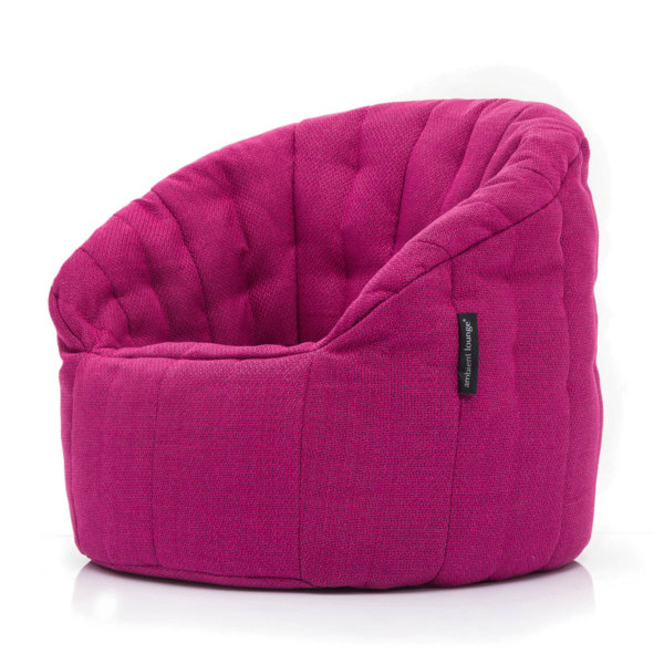 sakura pink butterfly sofa bean bag