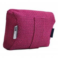 sakura pink tech pillow bean bag back view