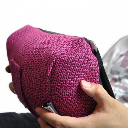 sakura pink tech pillow bean bag when held