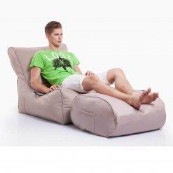 sandstorm evolution sofa bean bag with ottoman