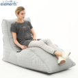 silverline avatar lounger bean bag with model 2
