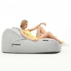 silverline satellite twin bean bag with model