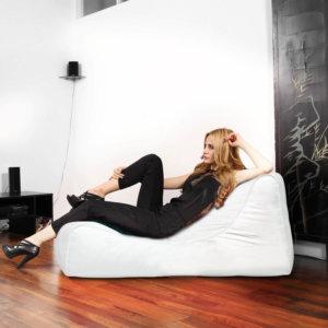 studio deluxe genuine leather santorini white