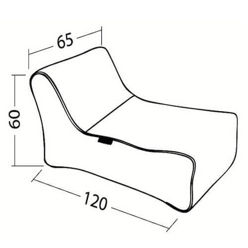 Ambient Lounge Studio Lounger Dimensions