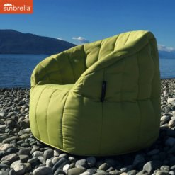 sunbrella limespa butterfly sofa bean bag outdoor shot 1