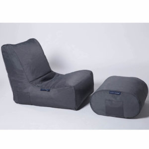 supernova ottoman bean bag set with evolution