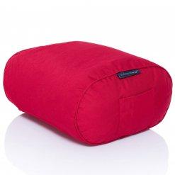 toro red ottoman bean bag