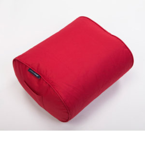 toro red ottoman bean bag top view