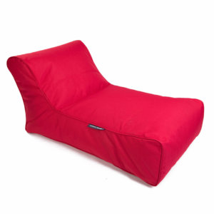 toro red studio lounger bean bag