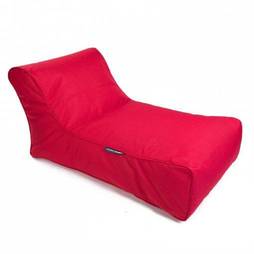 toro red studio lounger bean bag