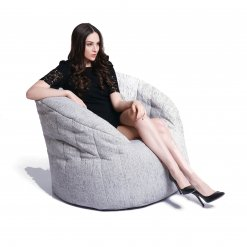 tundra spring butterfly sofa bean bag side view