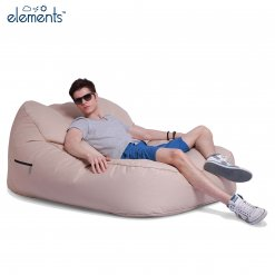 yacht club cream satellite twin bean bag