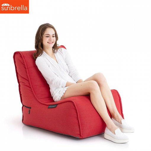 Evolution Sofa Crimson Luxury bean bags ambient lounge