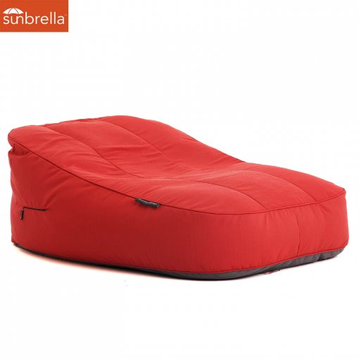 Satellite Twin Sofa Crimson Vibe Luxury Ambient Lounge Bean Bag