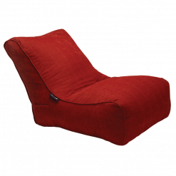 Red Lounge Beanbag Sofa