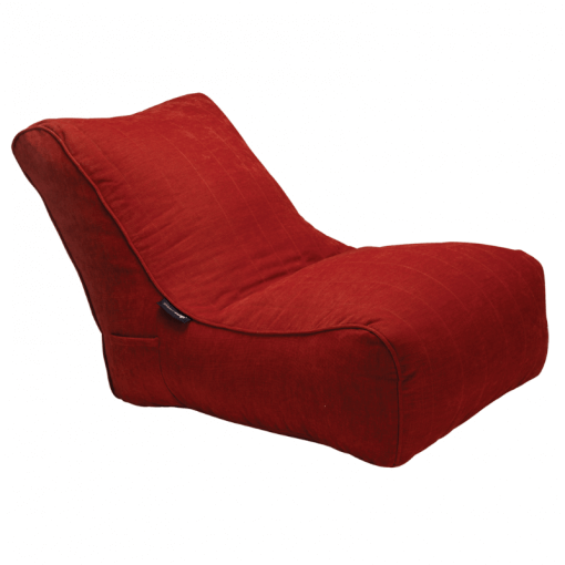 Red Lounge Beanbag Sofa