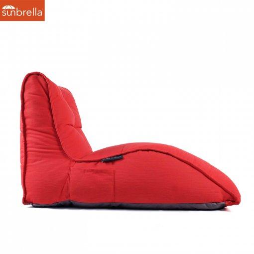 Avatar Red Crimson Vibe Lounger Luxury Sofa Designer Ambient Lounge Bean bags