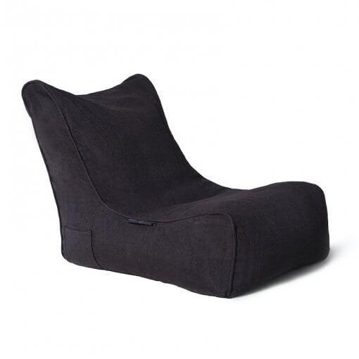 Black Lounge Beanbag Sofa