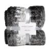 Animal Print Faux Fur Throw