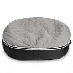 Cooling Pet Bed in Light Grey
