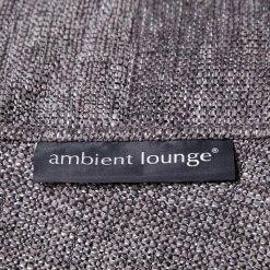 Lounge Armchair Bean Bag in Dark Grey