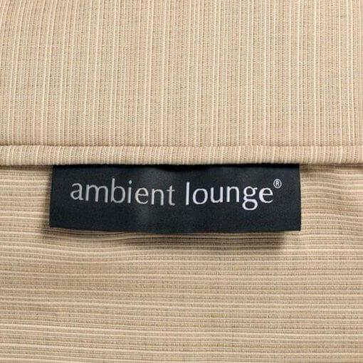 Contempo Beanbag Lounge Set in Cream Beige