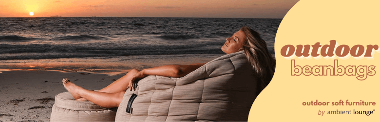 ambient lounge outdoor beanbags